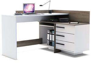 möbelando Eckschreibtisch Schreibtisch Arbeitstisch Bürotisch Computertisch möbelando